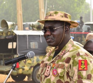 nigerian army finally reacts to viral video of boko haram killing several soldiers in borno state - Burutai blames recent Boko Haram attacks on soldiers' insufficient commitment