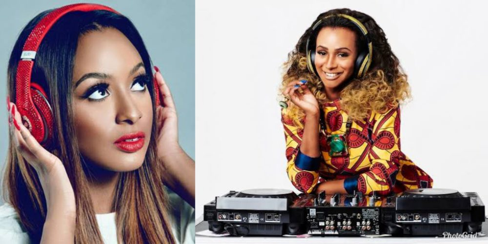 I use it because I can!!! DJ Cuppy slams fan who criticised her for using an iPhone even though she's a Samsung Ambassador