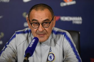 BREAKING: Italian tactician, Maurizio Sarri Departs Chelsea FC