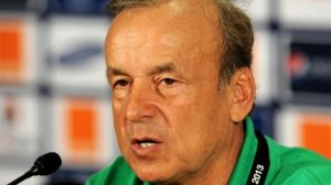 super eagles coach rohr finally speaks on alleged rift with onazi 300x168 - Egypt 2019: Nigerians Blast Super Eagles Coach, Gernot Rohr, Over Poor Team Selection