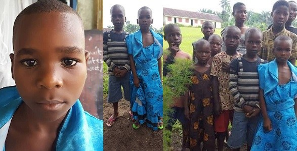 Heartbreaking photos of children rescued in Akwa Ibom after being branded witches and abandoned by their families