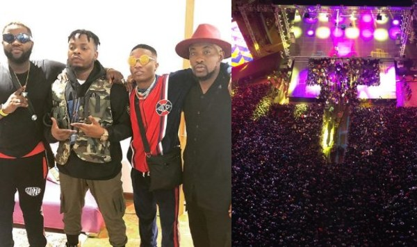 Wizkid went for Olamide's concert, OLIC5 after shutting down Made In