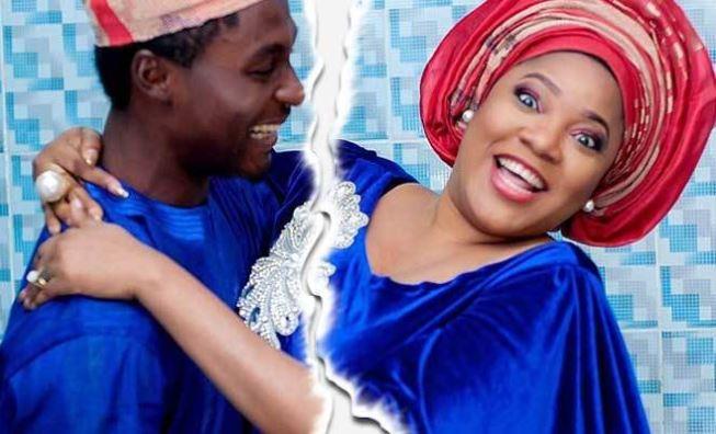 Adeniyi Johnson and ex wife, Toyin Abraham