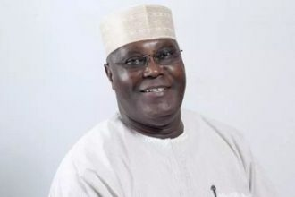 Atiku All Smiles As He Takes On Grandpa Duties (Photos)