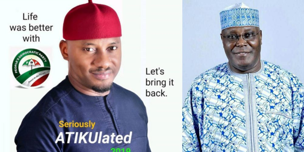 Image result for Actor Yul Edochie Dumps APGA For PDP, Gives Up His Political Post As SSA