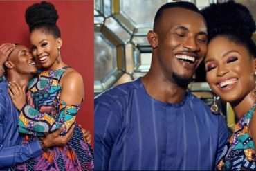 Gideon Okeke And Wife Welcome Their Fist Child