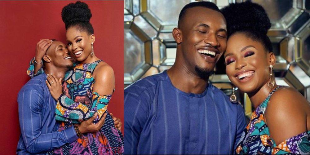 Gideon Okeke and Wife