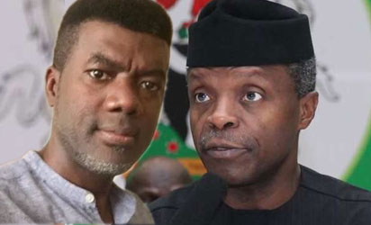Your Husband Is The Chief Of Recharge Card Givers' – Reno Omokri Shades Dolapo Osinbajo