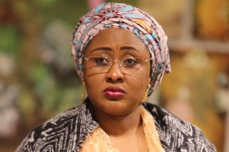 Say To Intimidation!!! Aisha Buhari Reacts As Police Storm Timi Dakolo's Residence