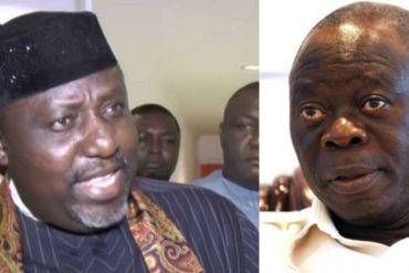 Watch hilarious moment Okorocha throws epic jabs at El-rufai and Oshiomhole
