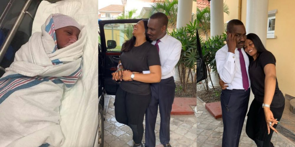 After 19 years of marriage, Nigerian couple welcomes their