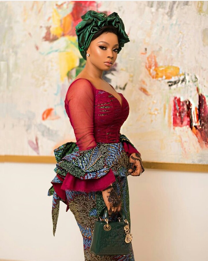 toke makinwa shows support for banky w for house of representatives seat - 'Buying a car, house will never scare the right man away' – Toke Makinwa
