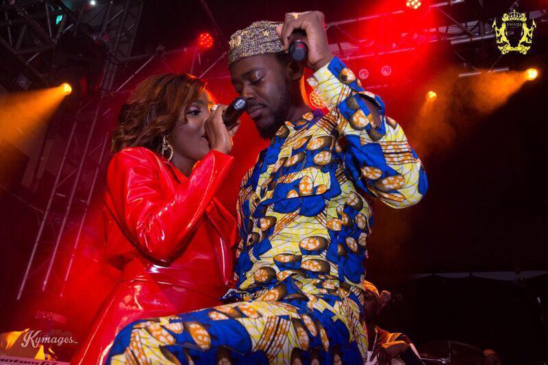 top male celebrities turn up at adekunle gold and simi traditional wedding photo - 'Main reason I married Adekunle Gold' – Simi reveals
