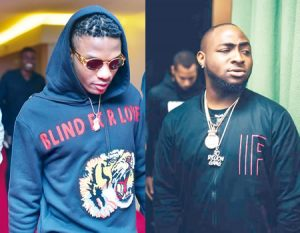 wizkid and davido 300x233 - Singer, Dotman In Soup With 'DMW Crew' For Declaring Wizkid 'The Greatest'