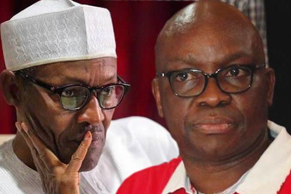 Nigeria may not recover 50 years after Buhari –Fayose