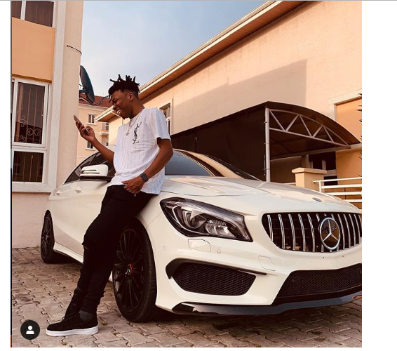 Mayorkun buys new car?