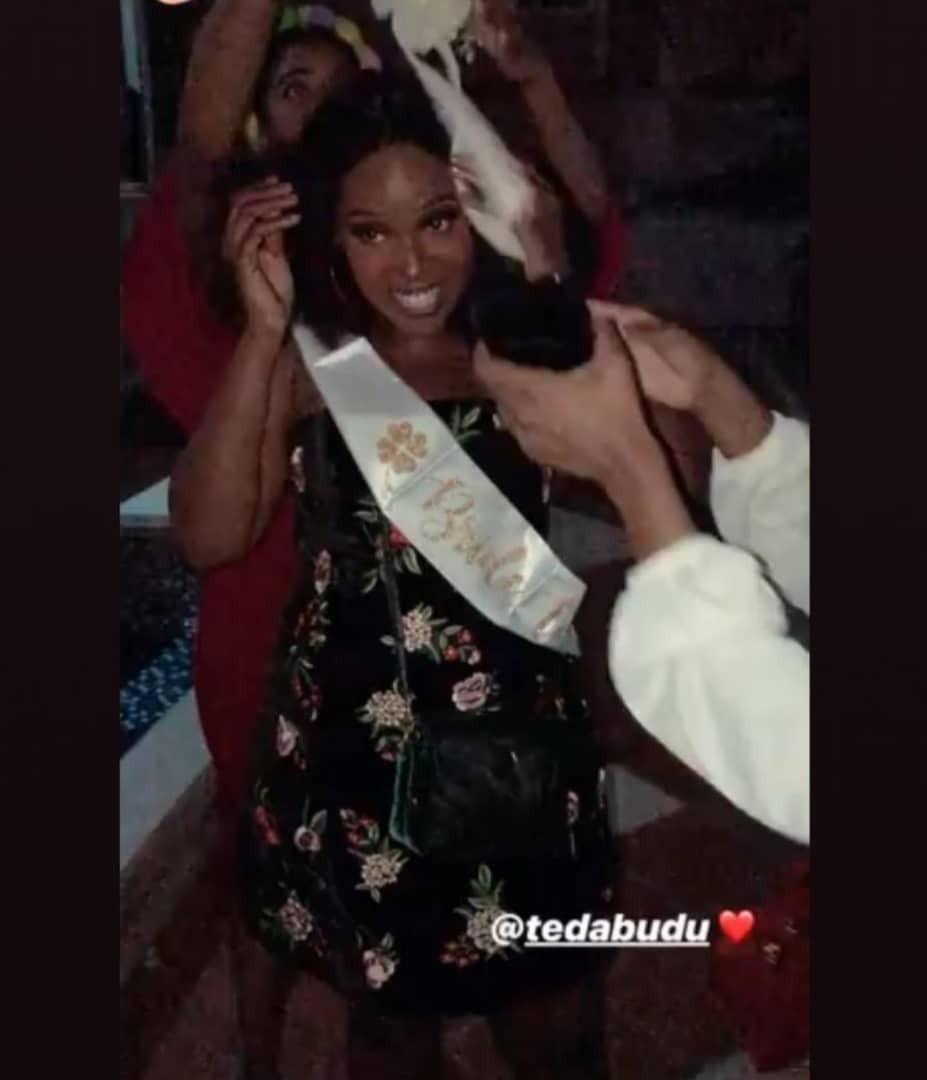 Mo abudu's daughter's bridal shower
