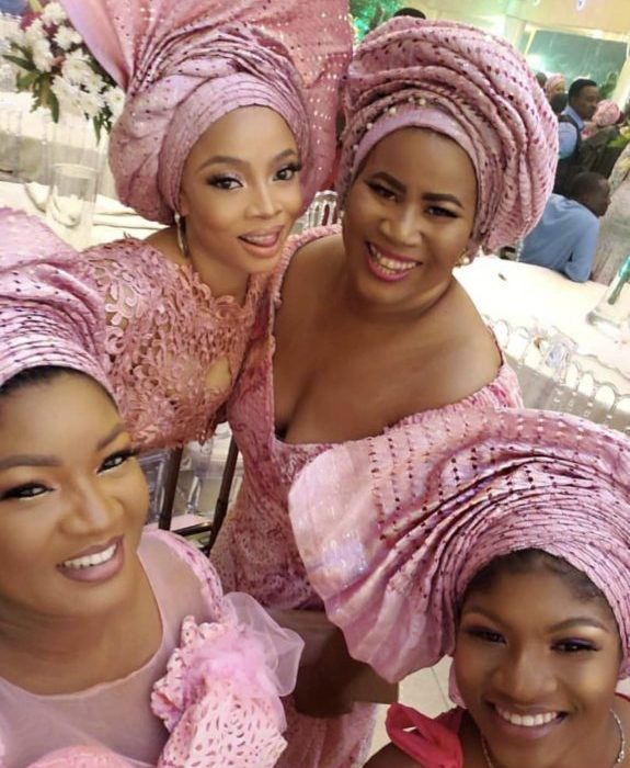 [Photos]: Celebrities storm the wedding of Mo Abudu's daughter
