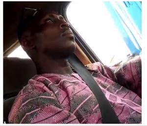 Driver masturbates