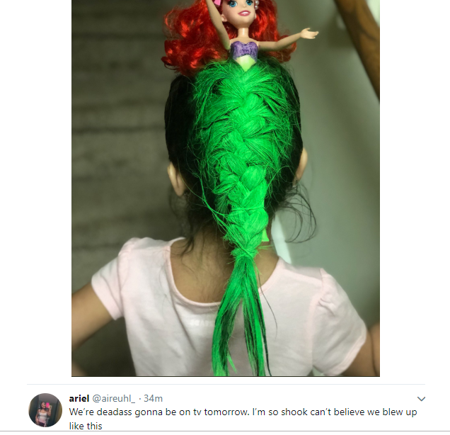 mermaid hairstyle