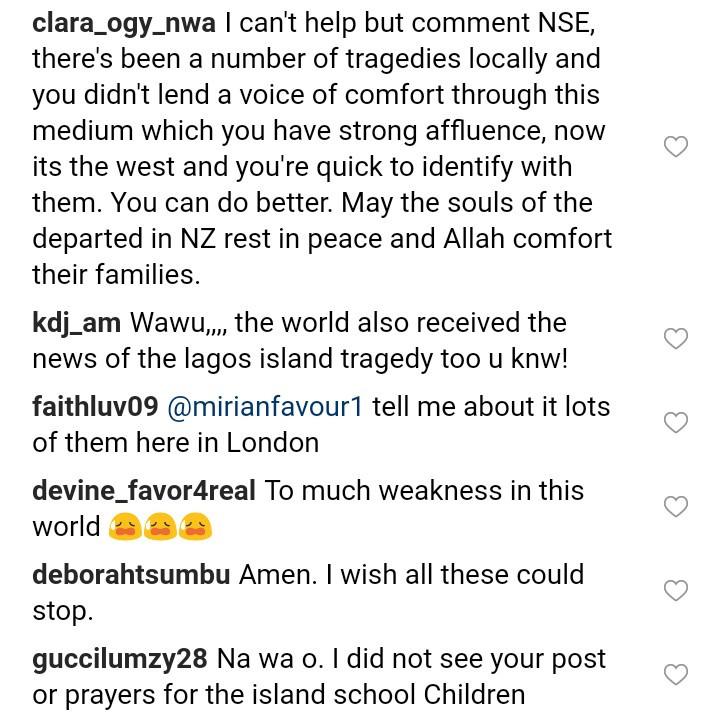 Nigerians slam Nse