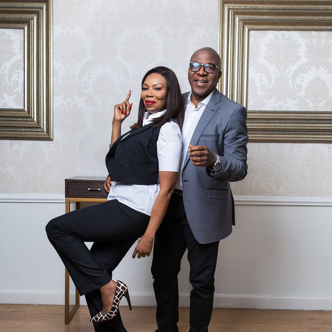 Betty Irabor celebrates husband