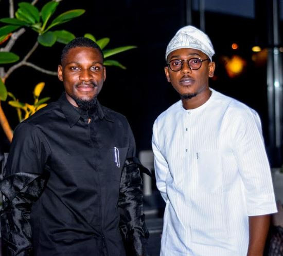 Tobi and cee attend an event