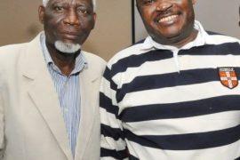 Jimoh Ibrahim and dad