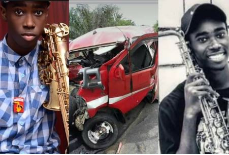 igerian dad recounst how his son died in a car crash