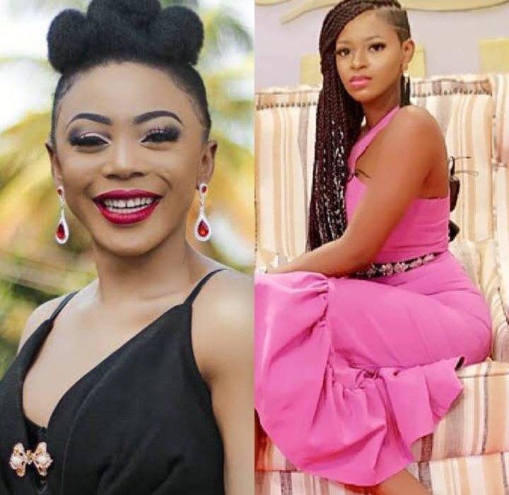 Ahneeka and Ifu almost fight