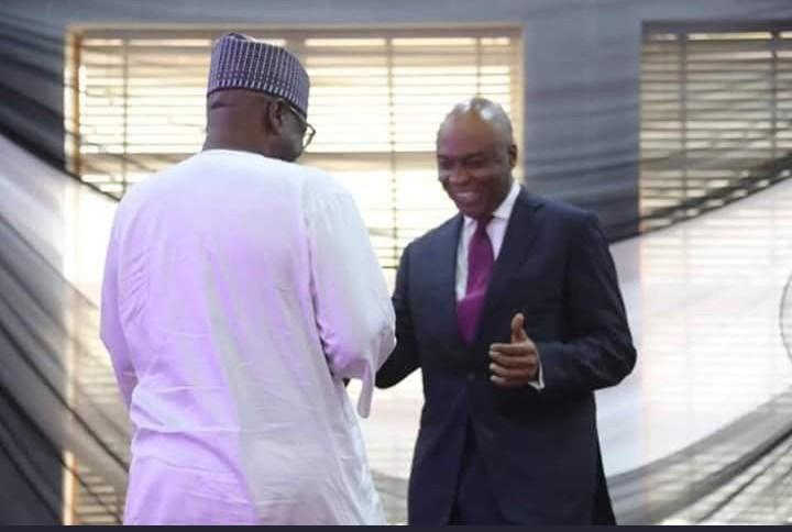 Saraki presents award to New governor