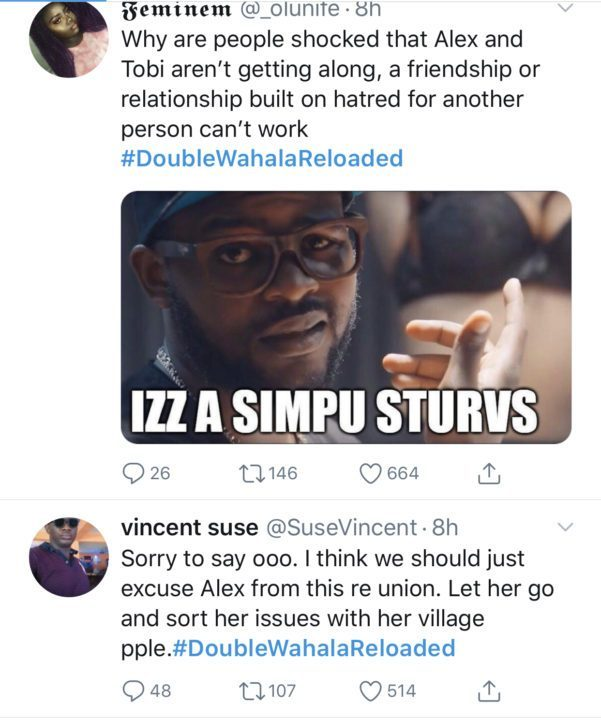 social media users drag alex