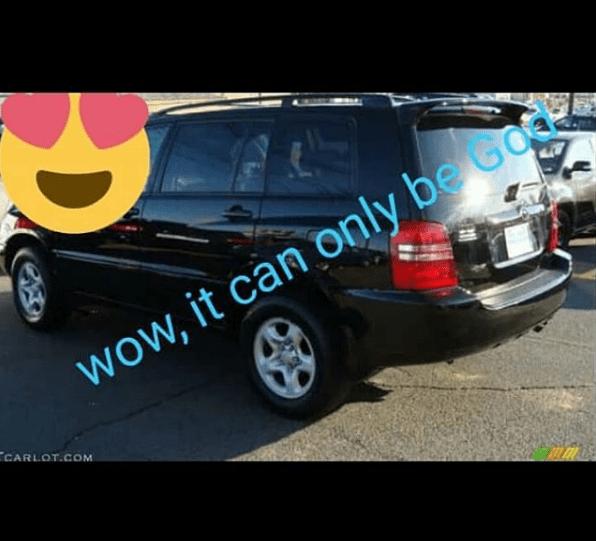 charity nnaji gifted new car