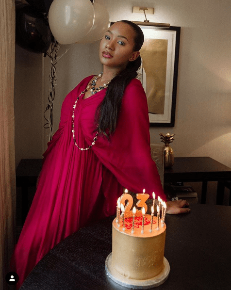 Temi otedola turns 23