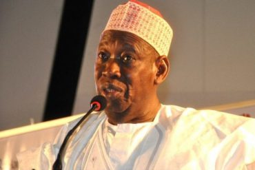 Governor Ganduje Celebrates Political Opponent, Kwankwaso At 63