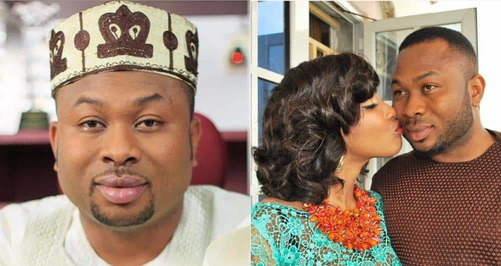 I met Tonto Dikeh at a night club – Olakunle Churchill - Olakunle Churchill's father's day message is a must read