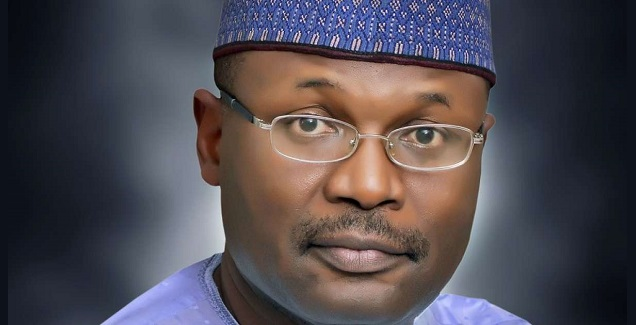 Mahmood Yakubu INEC - Read INEC chairman's statement as he declares PDP winner of Zamfara