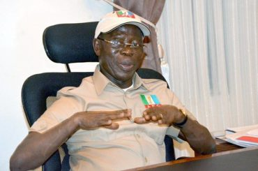 """""""The business of parliament is done transparently; they are not secret cult"""" - Oshiomhole protests Edo assembly saga"""