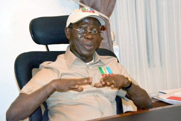 Edo APC Suspends Adams Oshiomhole
