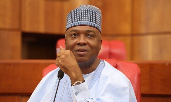 Saraki - What Saraki said after Lawan, Omo-Agege, Gbajabiamila and Wase emerge as 9th Assembly leaders
