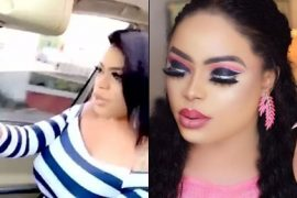 [Watch]: Bobrisky Causes Commotion Online With This Video