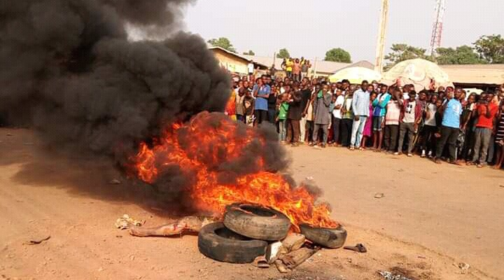 Suspected Criminal Sets Ablaze In Kwara