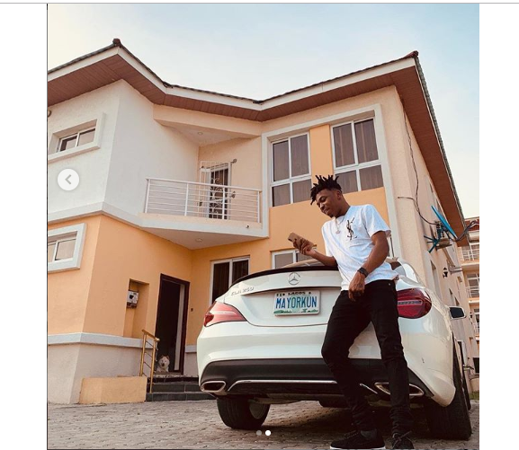 Mayorkun buys new car