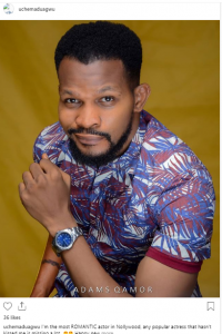 "uchee 200x300 - Every hardworking HUSBAND material in Nigeria is a ""40 seconds man""-Nollywood Actor To Tonto Dikeh"