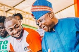 'Story For The Gods' - Davido Reacts To Court's Nullification Of Senator Adeleke's Candidacy