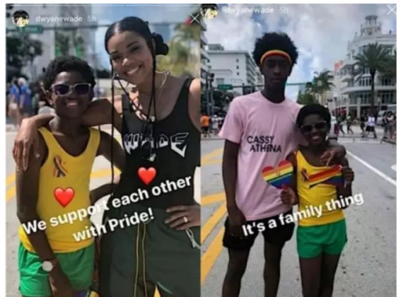Gabrielle Union finally reveals why she allowed her son attend a gay rally