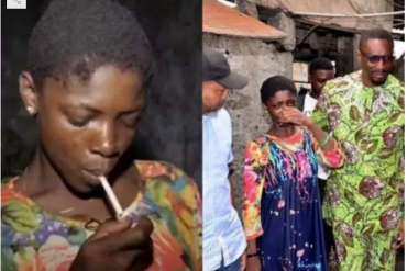 Video: Watch the emotional video of a teenager cocaine addict prostitutes to feed her addiction