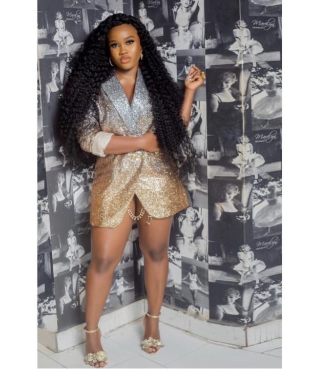 [Photos]: Cee-C steps out in super sexy Lingerie for Bam Bam's 30th birthday bash