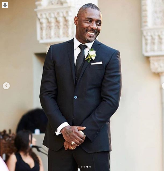 See photos from the wedding of Idris Elba and Sabrina Dohwre