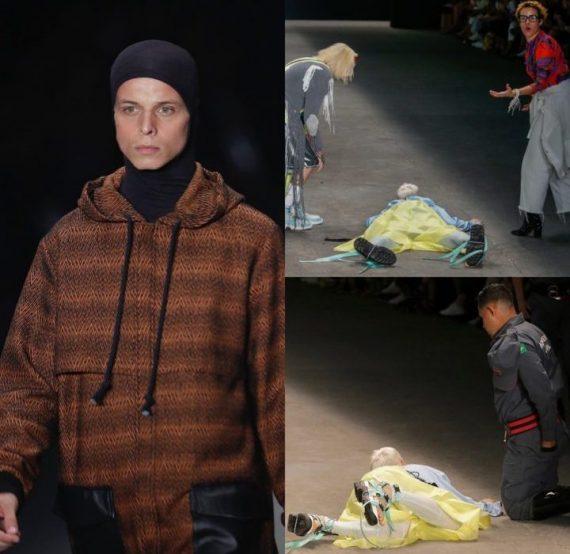 [Video]: Watch as Model slumps and dies on runway